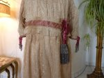 3 antique girls dress 1905