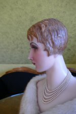 10 antique wax Bust 1920