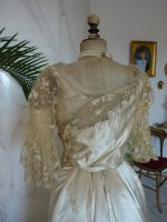 39antique evening dress WORTH 1898