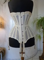 10 antique summer corset 1890