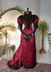 antique evening gown
