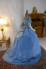 46 antique ball gown 1864