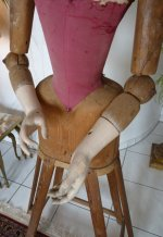 7 antique mannequin 1800