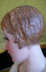 13 antique wax Bust 1920