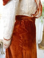 38j antique gown
