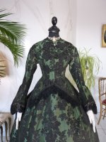 1 antique reception gown 1856