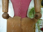 19 antique mannequin 1800
