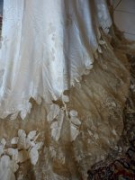 37 antique evening dress WORTH 1898