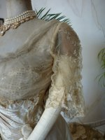 9 antique evening dress WORTH 1898