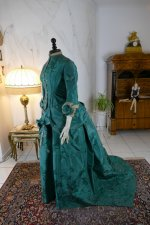 12 antique princess Bustle dress 1878