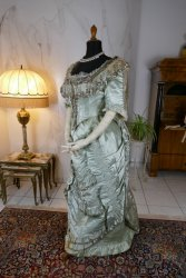 antique evening gown 1889