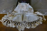 15 antique wedding bonnet 1870