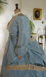 20 antique reception gown 1865