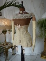 3 antique corset 1900