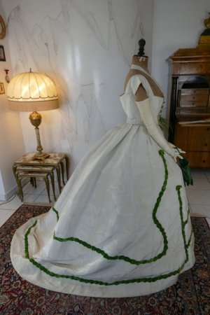 antique ball gown 1865