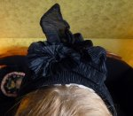 6 antique mourning bonnet