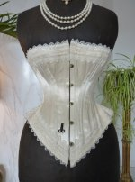 3a antique wedding corset 1880