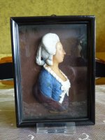 10 antique wax relief 1790