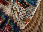 14 antique beaded Purse 1825