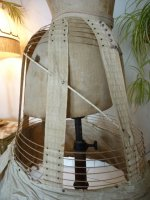 21 antique crinoline