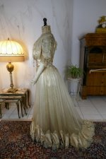 14 antique ball gown 1900