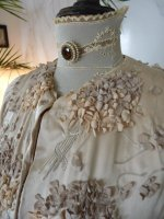 4 antique silk coat 1906