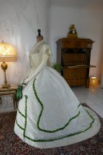 15 antique ball gown 1865