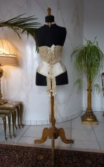 2 antique victorian corset 1895