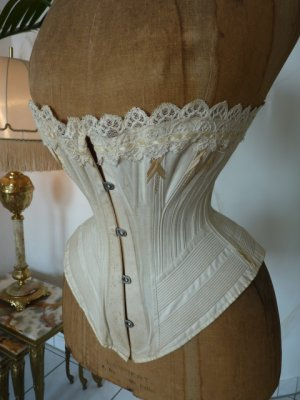 antique corset 1888