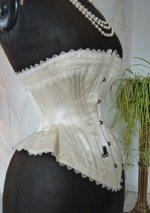 27 antique wedding corset 1880