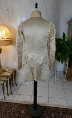 32 antique rococo wedding coat 1740