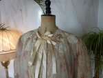 4 antique bed jacket