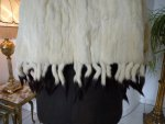 10 antique ermine cape