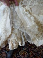 48 antique reception gown 1901