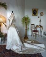 9 antique ROUFF Wedding Dress 1896