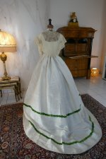16 antique ball gown 1865
