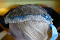 6 antique bonnet 1860