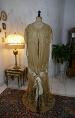 12 antique Drecoll Negligee 1912