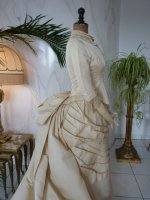 39 antique wedding gown 1874