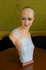 30 antique wax mannequin Imans 1920