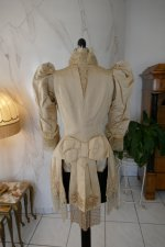 25 antique silk jacket 1895