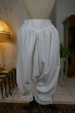 1 antique bloomers 1900