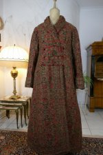 3 antique Mens dressing coat 1865