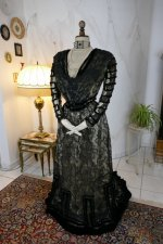 15 antique evening dress 1903