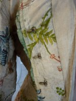 102 antique silk jacket 1750