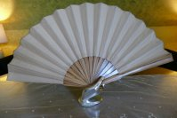 6 antique bird fan 1905