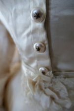 6a antique wedding dress 1876