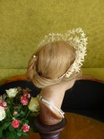 11 antique wax wedding tiara