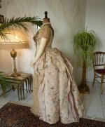 17 antique Ball gown 1880