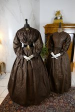 2 antique afternoon dress 1840